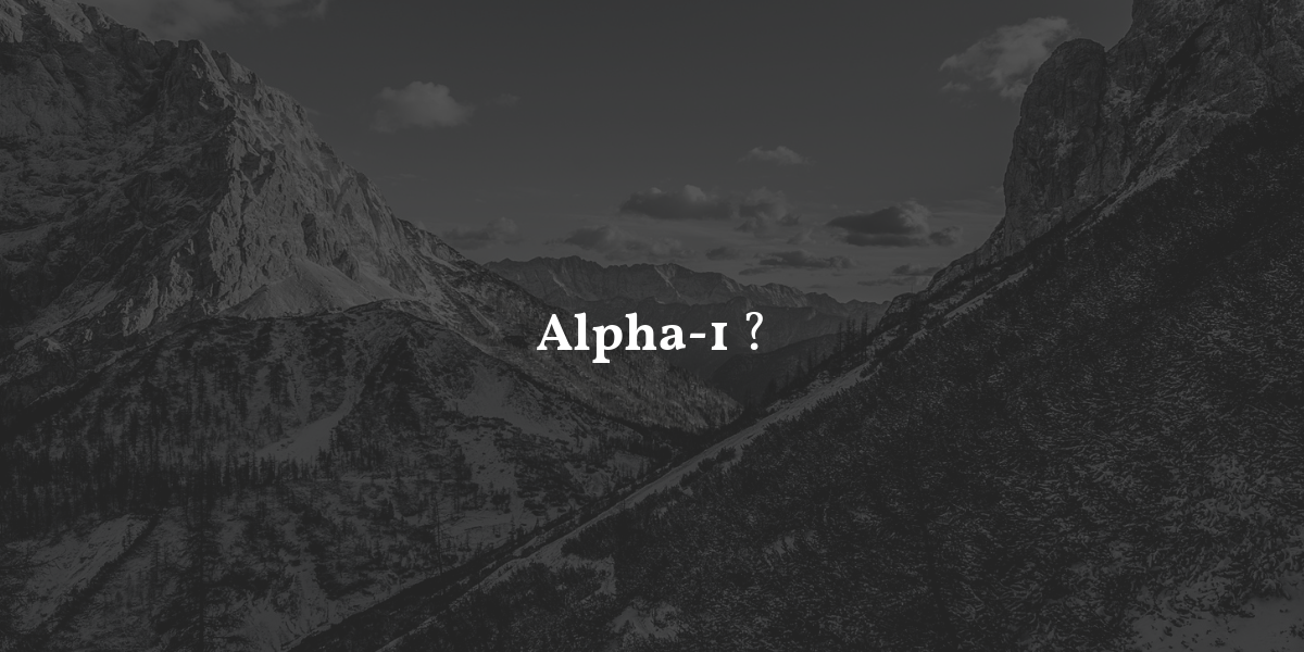 Alpha Antitrypsinmangel Alpha 1– Alpha 1 TJ3lKuFc1